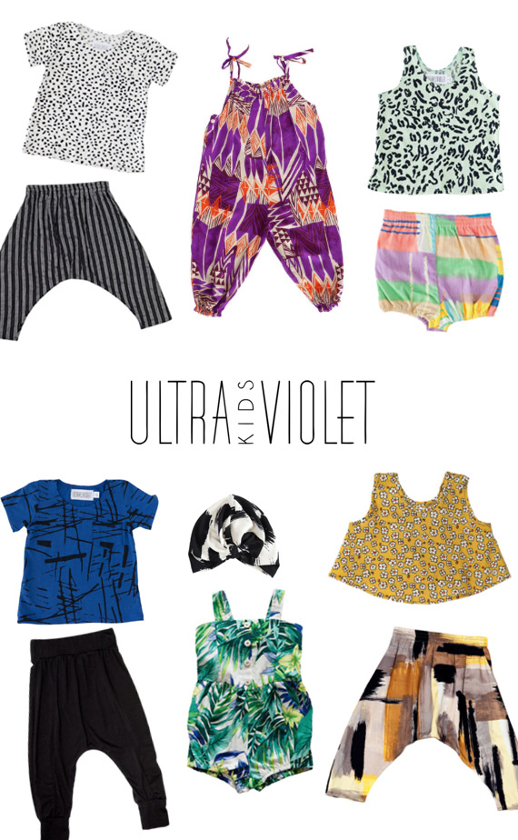 Ultra Violet Kids | Modern kids clothes | 100 Layer Cakelet