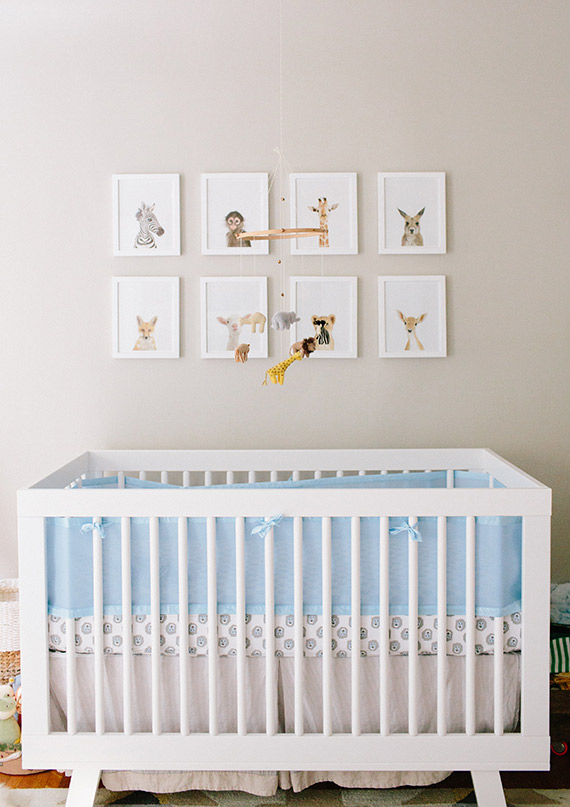Inspiring Mom: Zoë Chicco | Modern boy's nursery design | Photos by Annie McElwain | 100 Layer Cakelet