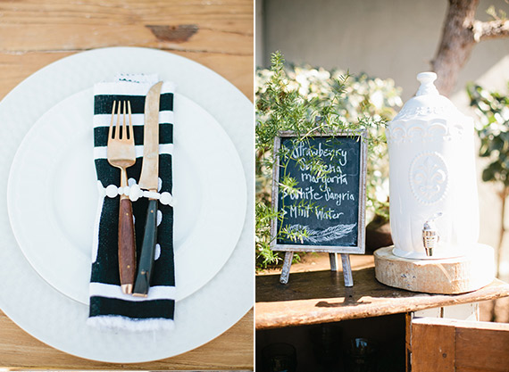 Backyard baby shower by Dish Wish | Photos by Megan Welker | 100 Layer Cakelet