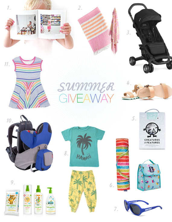 Summer Kids Giveaway on 100 Layer Cakelet