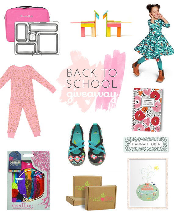 Back to School giveaway for girls