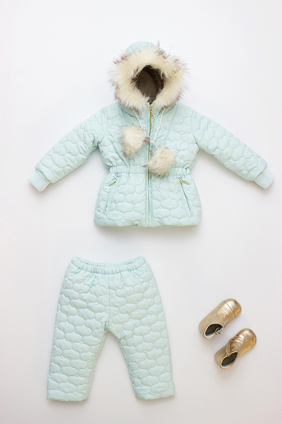 Children's parka from Flora + Henri