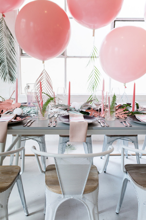 tropical diy baby shower