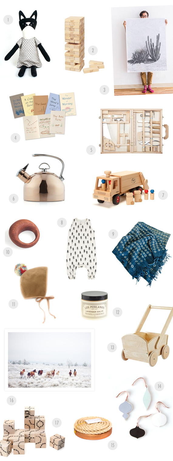 Lo-fi family gift guide from 100 Layer Cakelet