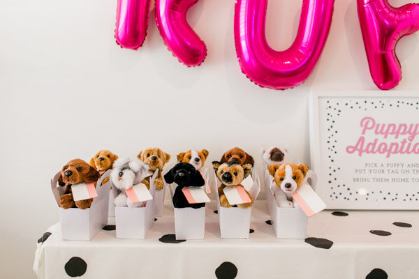 Adopt A Puppy Party Kids Birthday Parties 100 Layer
