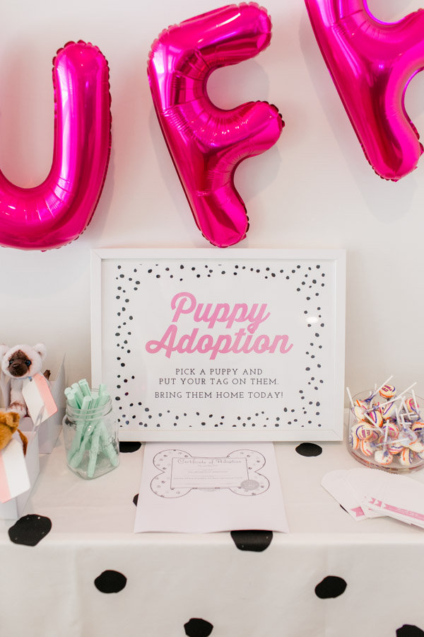 Adopt a Puppy Party