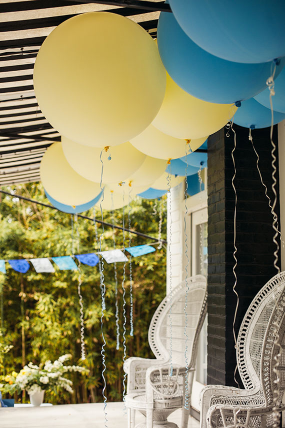 backyard austin baby shower
