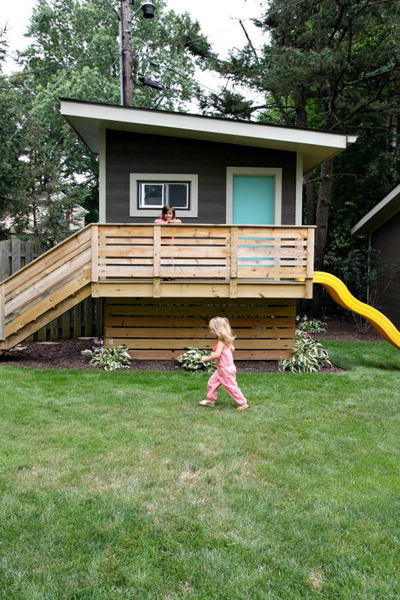 15 amazing outdoor play houses