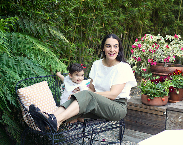 At home with Heather Taylor and daughter Scarlett on 100 Layer Cakelet