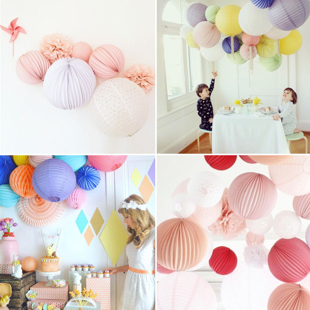 Paper lantern party ideas