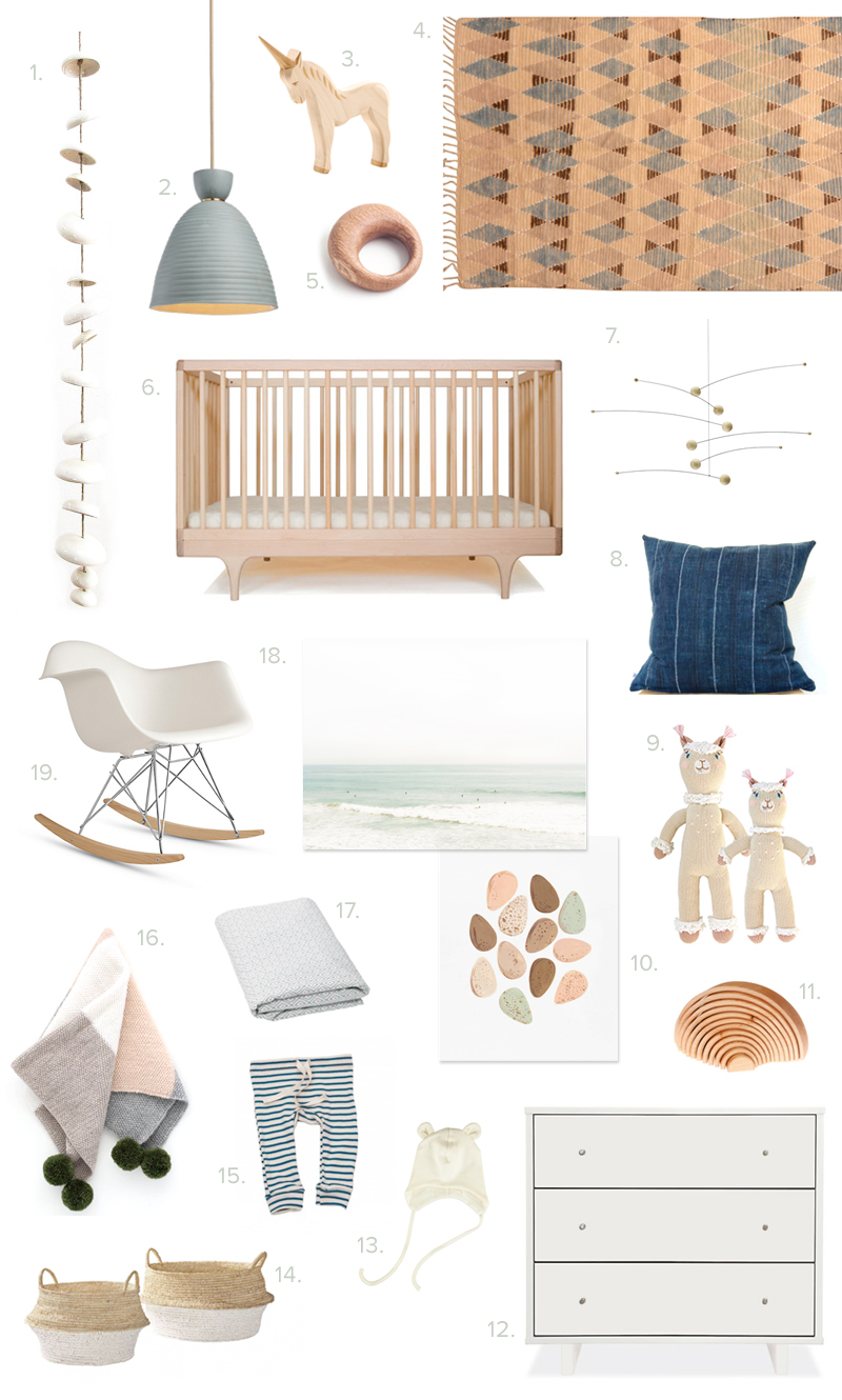 Neutral nursery ideas from 100 Layer Cakelet