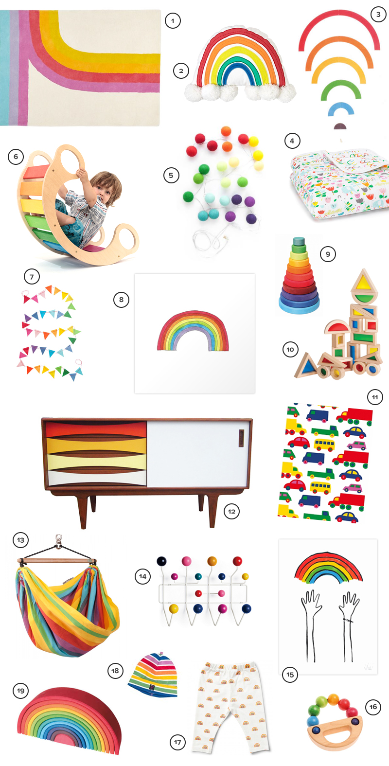 rainbow nursery ideas