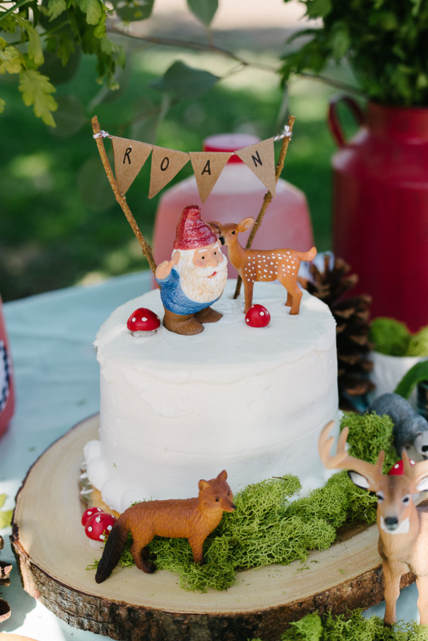 Gnome 1st birthday party