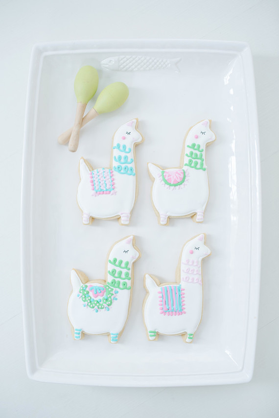 Llama cookies | Best Birthday Ideas of 2017 on 100 Layer Cakelet