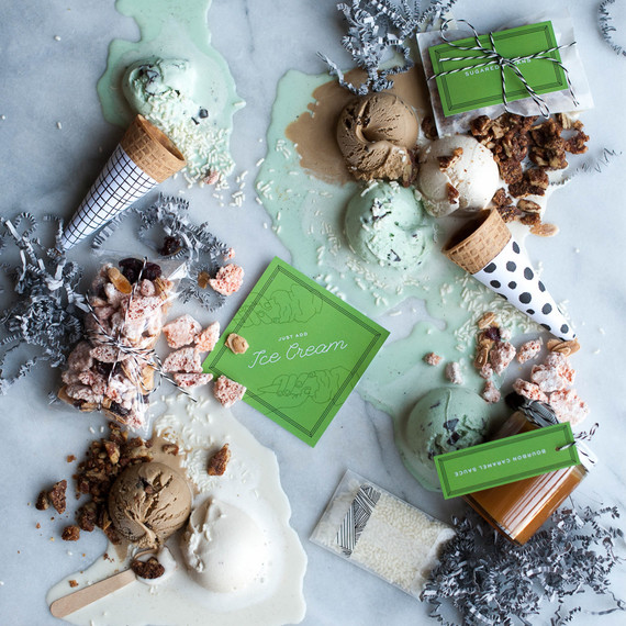 Best baby shower themes of the year on 100 Layer Cakelet  / Ice Cream Party