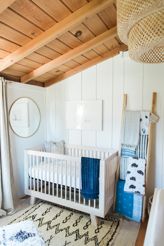Best nursery design of the year on 100 Layer Cakelet: Boho indigo