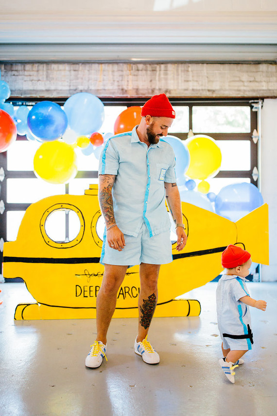 Life Aquatic birthday party | Best Birthday Ideas of 2017 on 100 Layer Cakelet