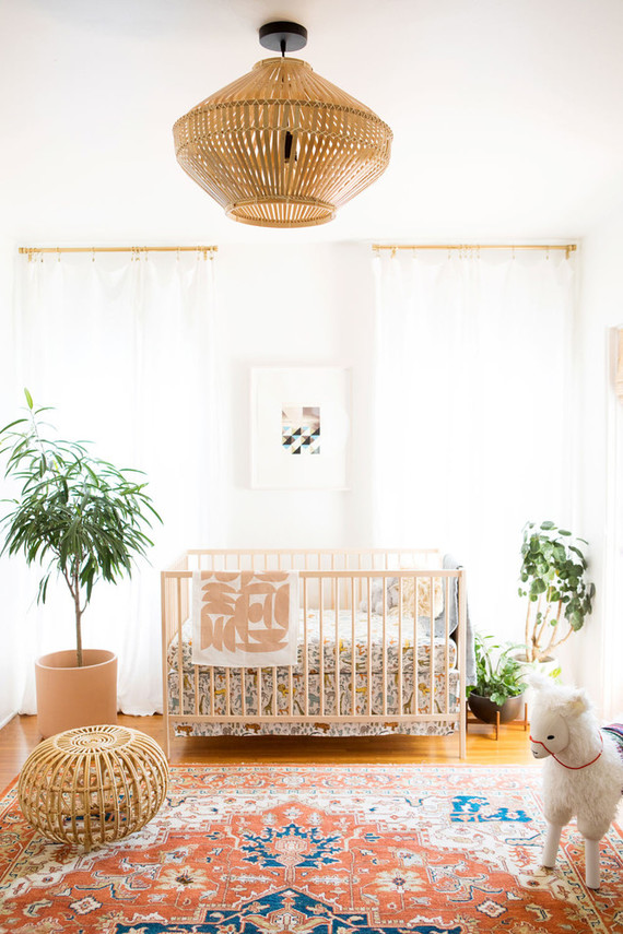 Best nursery design of the year on 100 Layer Cakelet / eclectic boho boy's nursery