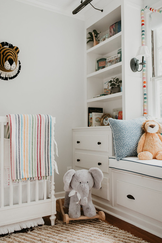 Best nursery design of the year on 100 Layer Cakelet: Safari inspired