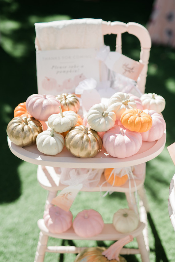 Best baby shower themes of the year on 100 Layer Cakelet  / Little Pumpkin