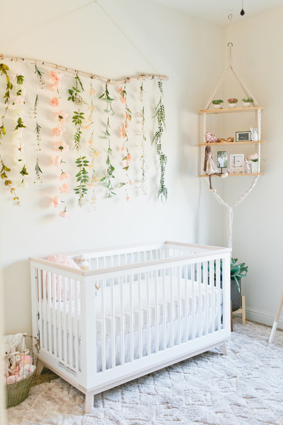Best nursery design of the year on 100 Layer Cakelet: Floral feminine