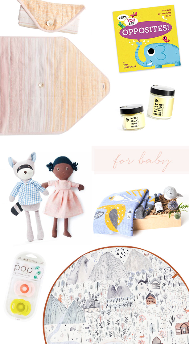 Gift guide for baby with Bestowe gifting