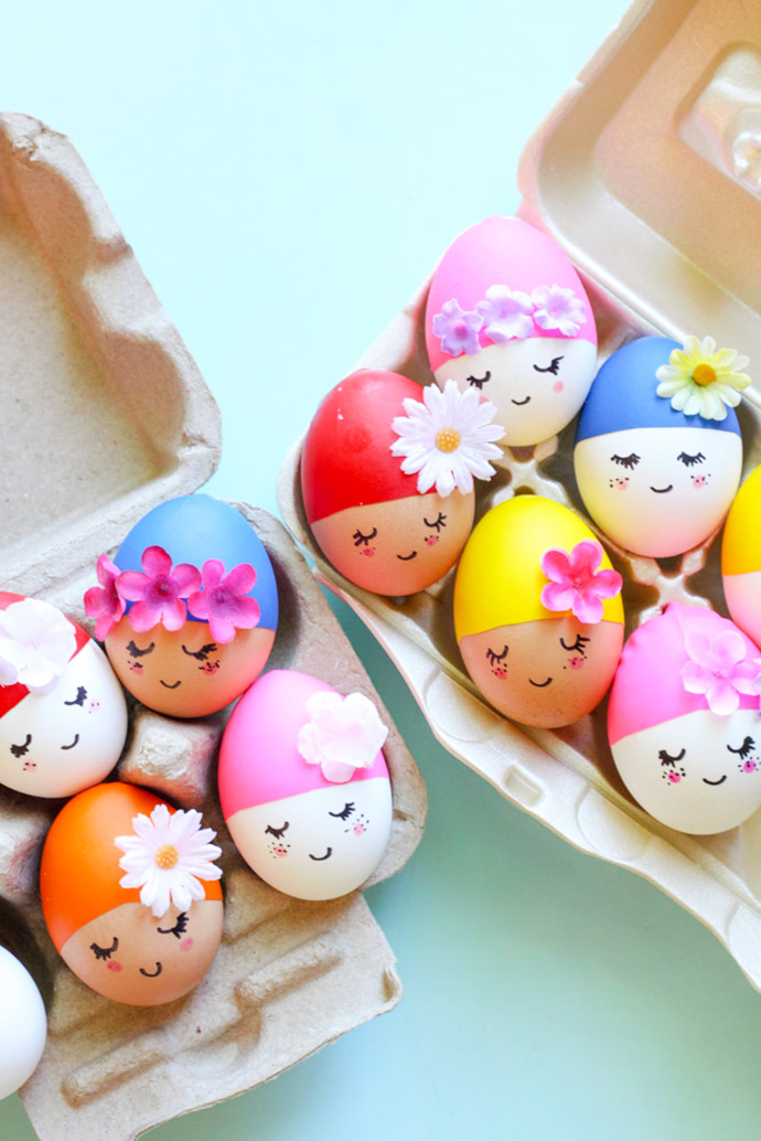 Pool party eggs by Handmade Charlotte