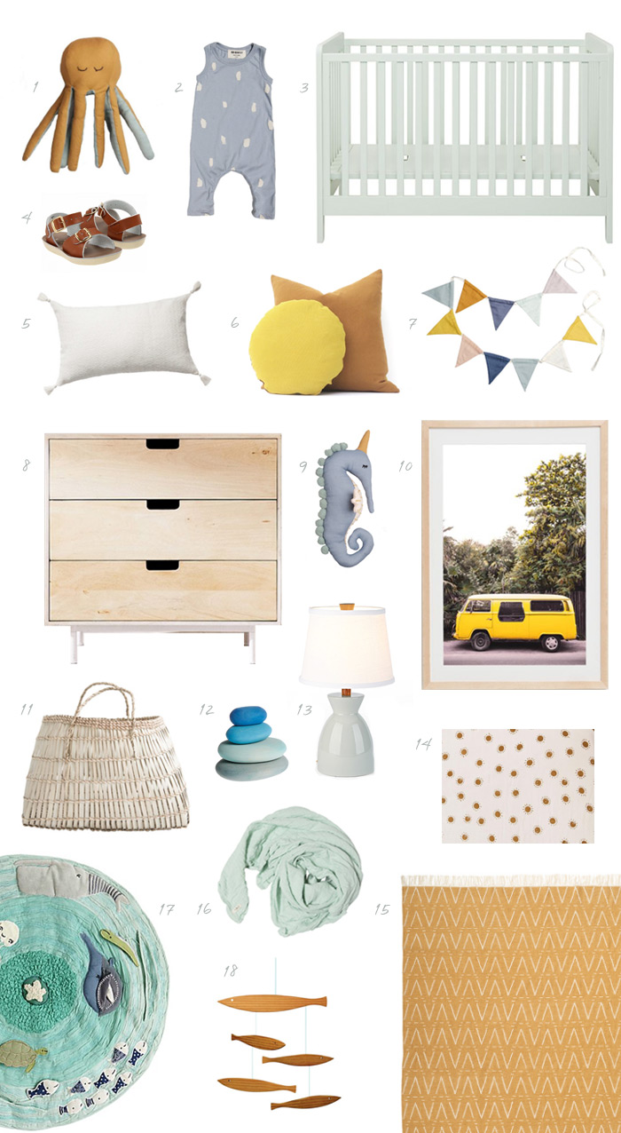 Summer Inspired Nursery Board