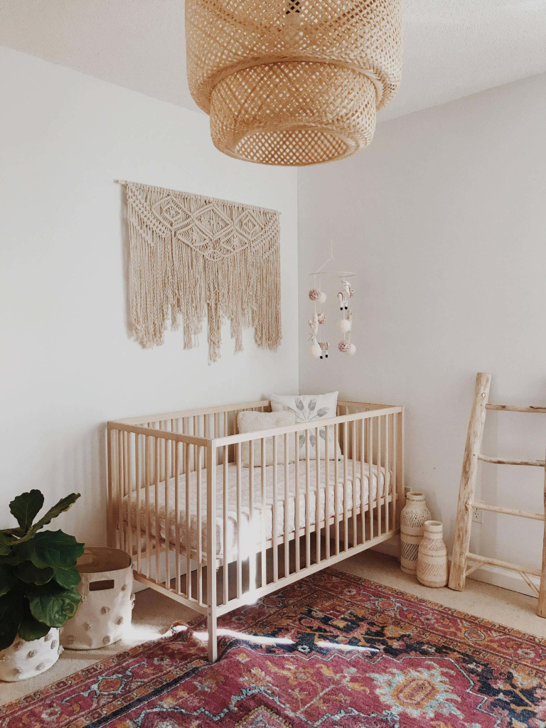 Earth tone nursery ideas on 100 Layer Cakelet
