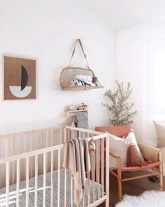 Warm neutral nursery ideas for 2019 babies on 100 Layer Cakelet
