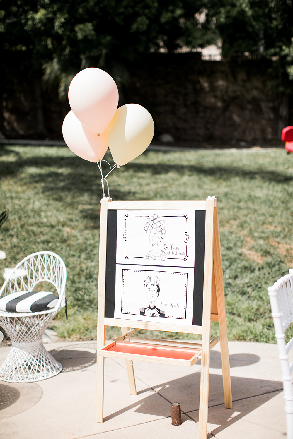 Floral 1st birthday party